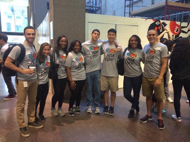2014 NBA Associate Class - NBA Cares Day of Service